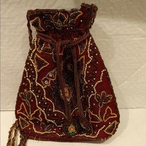 Handbags - Beaded vintage bag.